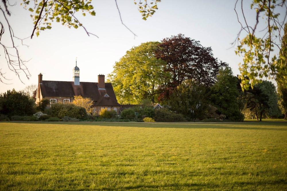 Cricket, cricket pavilion, oxford, Victorian, asymmetrical chimney, beauty, architecture, design, copula,