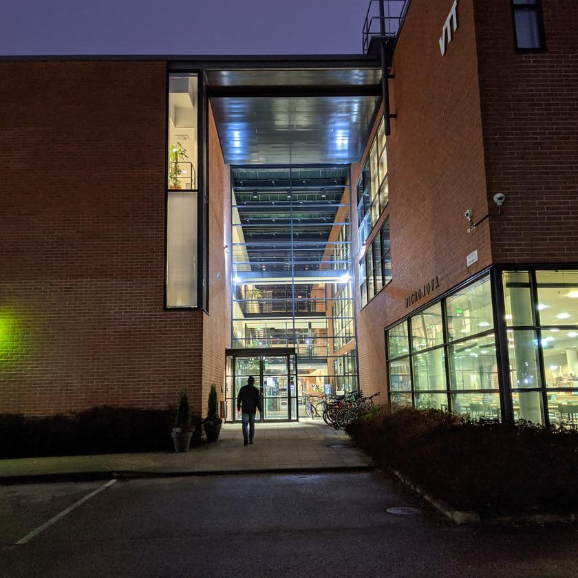 Micronova building of Aalto University