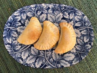 Pumpkin Turnovers (Empanaditas de Calabaza) from Cocina de la Familia by Marilyn Tausend prepared by MaryLou