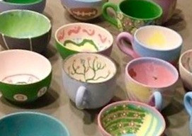 Bowl Painting to Benefit Chelsea Empty Bowls