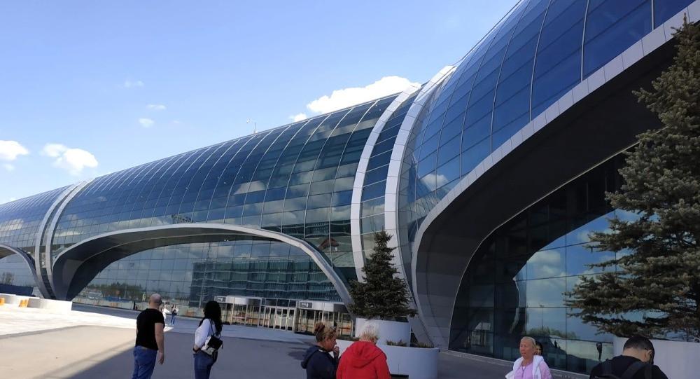 שדה התעופה במוסקבה