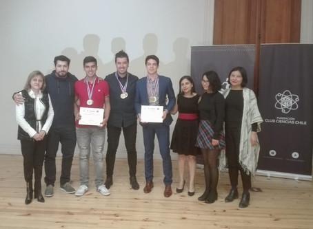 Ganadores del Foro Internacional de Ciencias