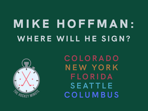 You're Mike Hoffman. Where Would You Like To Play Next Season?