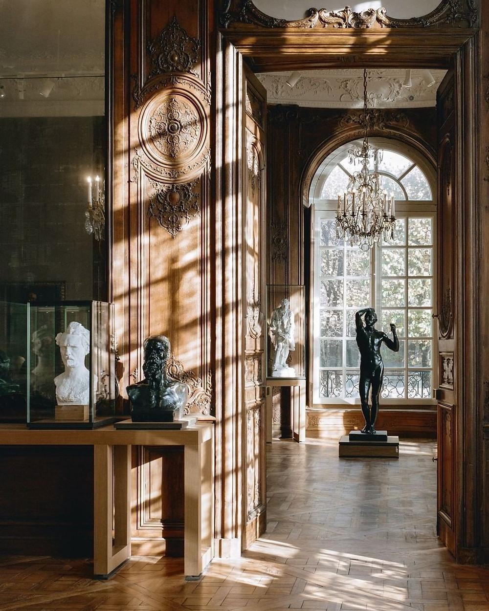 Musée Rodin inside