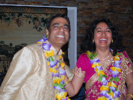 Gautom weds Suchitra - again, after 25 years! July 7th 2018