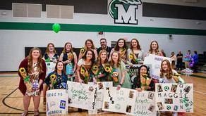 SPMS Ladywave Volleyball Players Honored