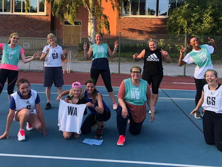 Sweden welcomes Junior and Walking netball!
