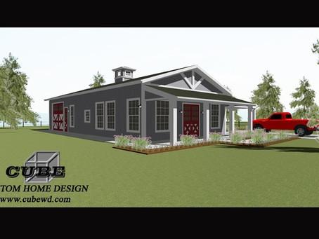 # Barndominium House Plan-brn-09