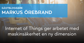 Internet of Things ger arbetet med maskinsäkerhet en ny dimension