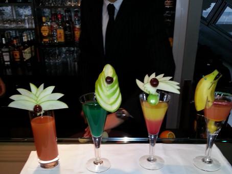 {En coulisses} Préparation de cocktails