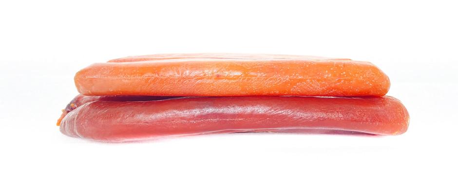 Perché la bottarga di Muggine ha colori diversi?