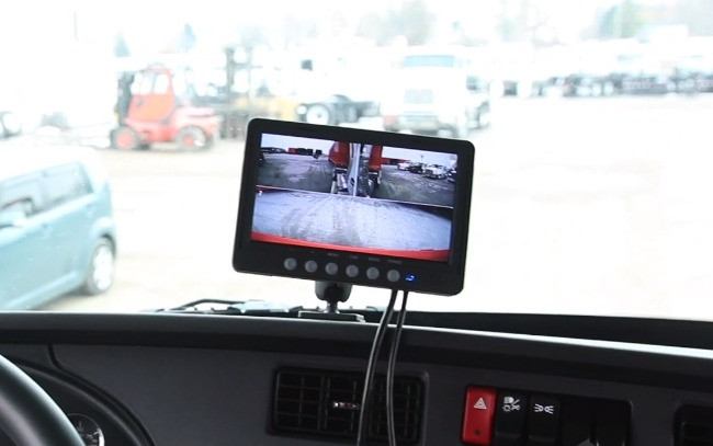 Truck Dashboard Monitor