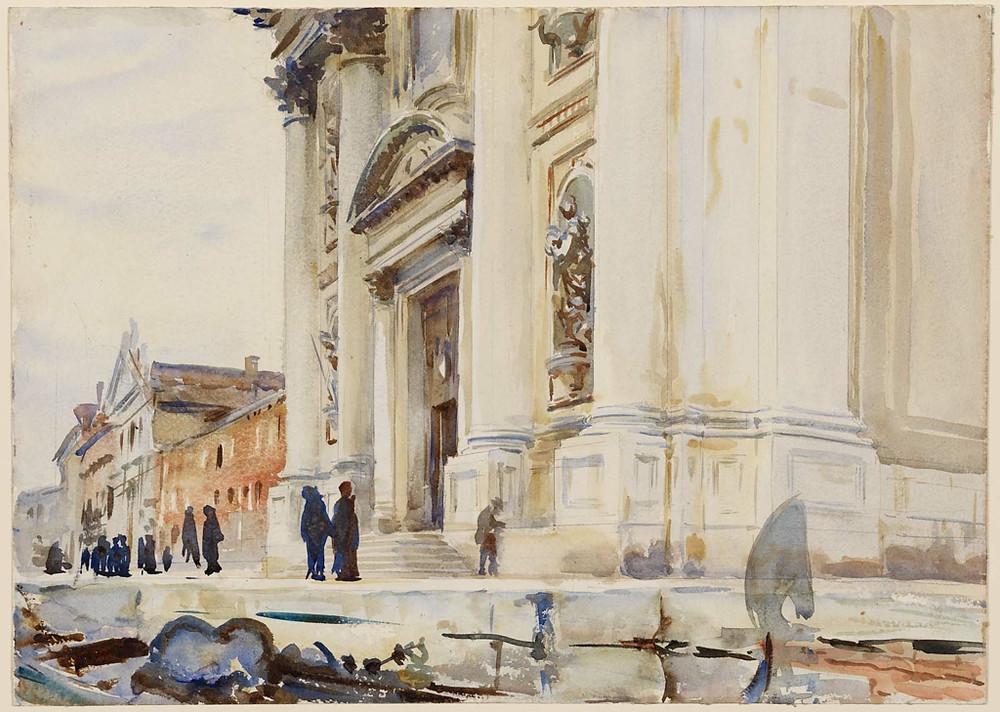 Venice, I Gesuiti, c 1909, 55 x 49cm, Museum of Fine Arts, Boston
