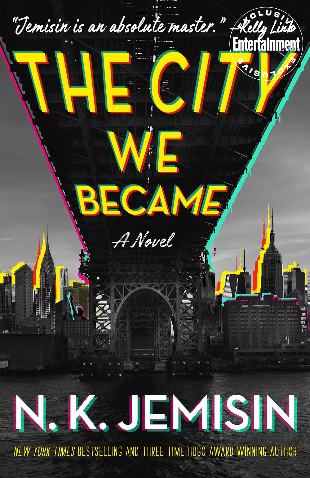 THE CITY WE BECAME by N.K. Jemisin : thebookslut book reviews the book slut