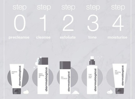 Follow and practice the Dermalogica ultimate 0-4 step routine for your daily dose of skin fitness!