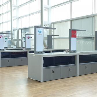 인천국제공항 2터미널 출국장 사물함락카키 KD100S
