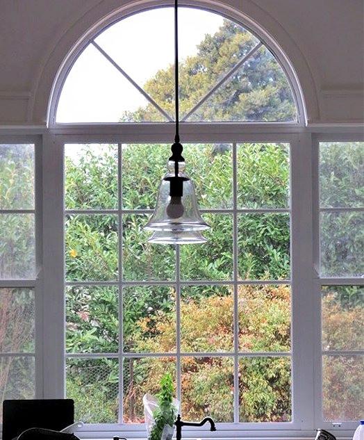 Arched custom window