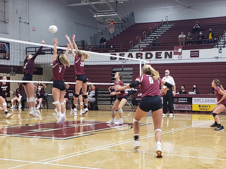 Oak Ridge Volleyball clinches regular season District Championship with victory over Bearden