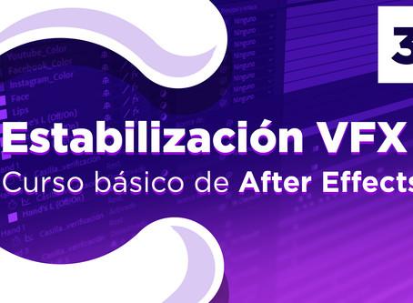 Estabilización VFX en After Effects - 37
