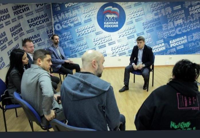 В пятницу депутат Госдумы Сергей Боярский встречался с владельцами петербургских баров