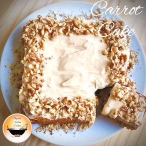 Carrot cake Recipe/How to make carrot cake/Moist carrot cake/Carrot cake with cream cheese frosting