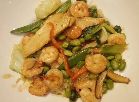 Shrimp and Chicken stir-fry