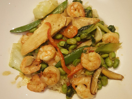 Shrimp and Chicken stir-fry