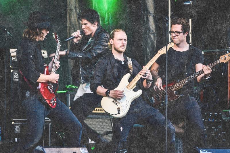 Prog metal band recording