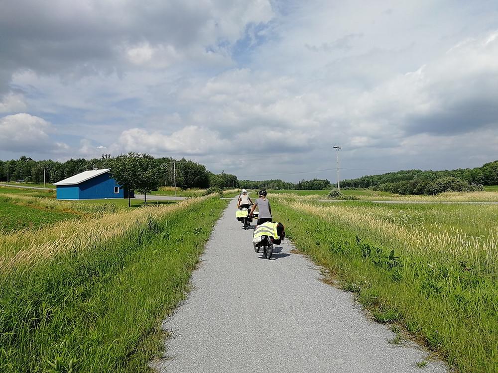 Tour du monde à vélo en famille Canada
