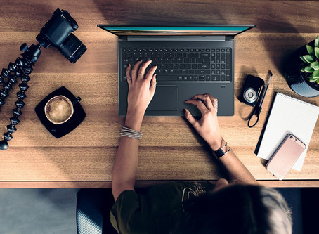 ¿Muchas horas frente a su laptop ? Busque la postura correcta