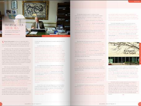 Entrevista a Antoni Vila, fundador y presidente de la Fundació Vila Casas