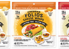 Folios Cheese Wraps Roll Out 3 All-Cheese, All-Natural Flavors