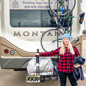 Six Stretches to Feel Better on RV Travel Days.