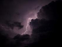Like a lightening storm in the brain