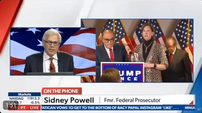 Sabatoge - Zoom Call with DOD Official, AOC and Bernie Sanders | Sidney Powell