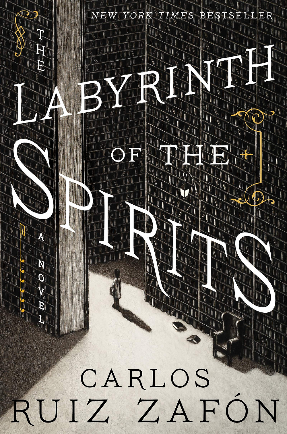 The Labyrinth of the Spirits By Carlos Ruiz Zafón 816 pages. 2018. the Book Slut book reviews thebookslut