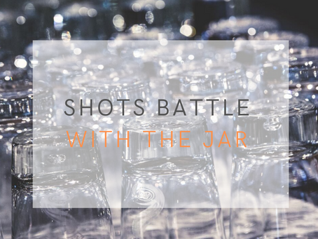 Shots battle with The Jar Healthy Vending