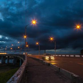 Тучи над рекой Костромой