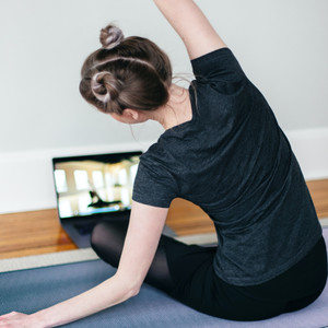 How to build a home yoga practice and stick to it