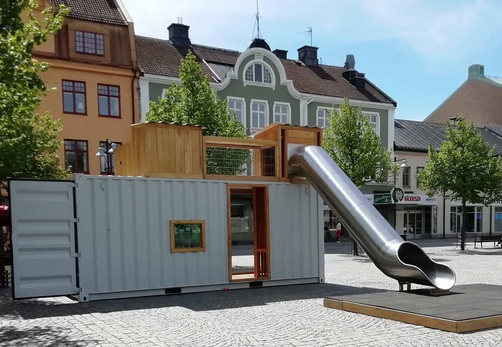 #popuplekpark #cado #katrineholm #levandestadskärna #sommarstad