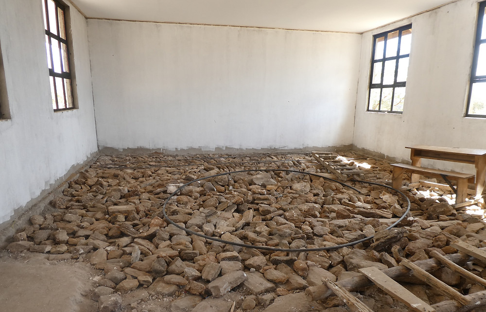 Classroom before the Renovation