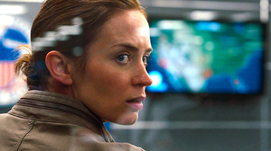 Emily Blunt as passive protagonist Kate Macer in SICARIO – written by Taylor Sheridan.