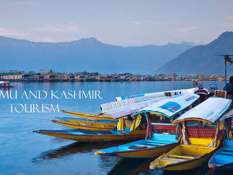 """The Heaven on Earth"": Jammu and Kashmir."