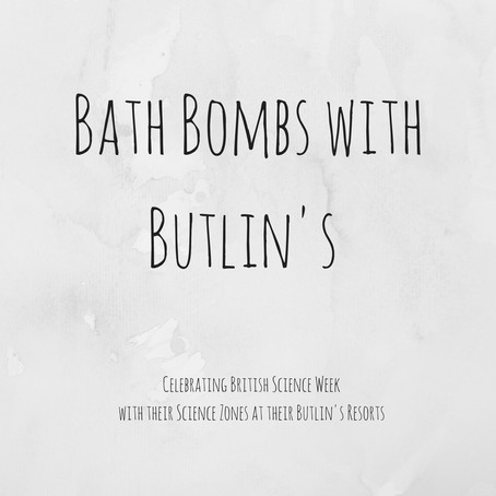Making Bath Bombs With Butlin's!