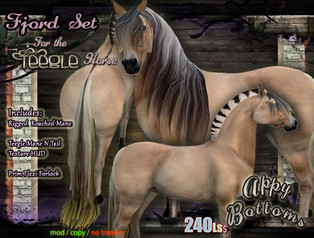 ::AppyBottoms:: Mane & Tail Textures