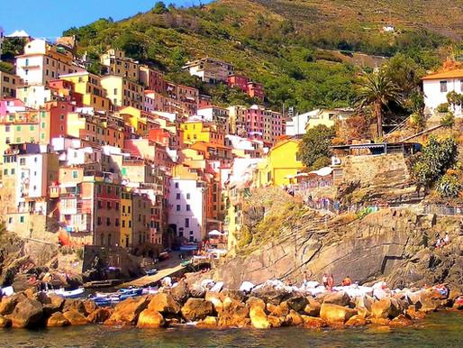 Cinque Terre (UNESCO). Costa de Liguria, Italia