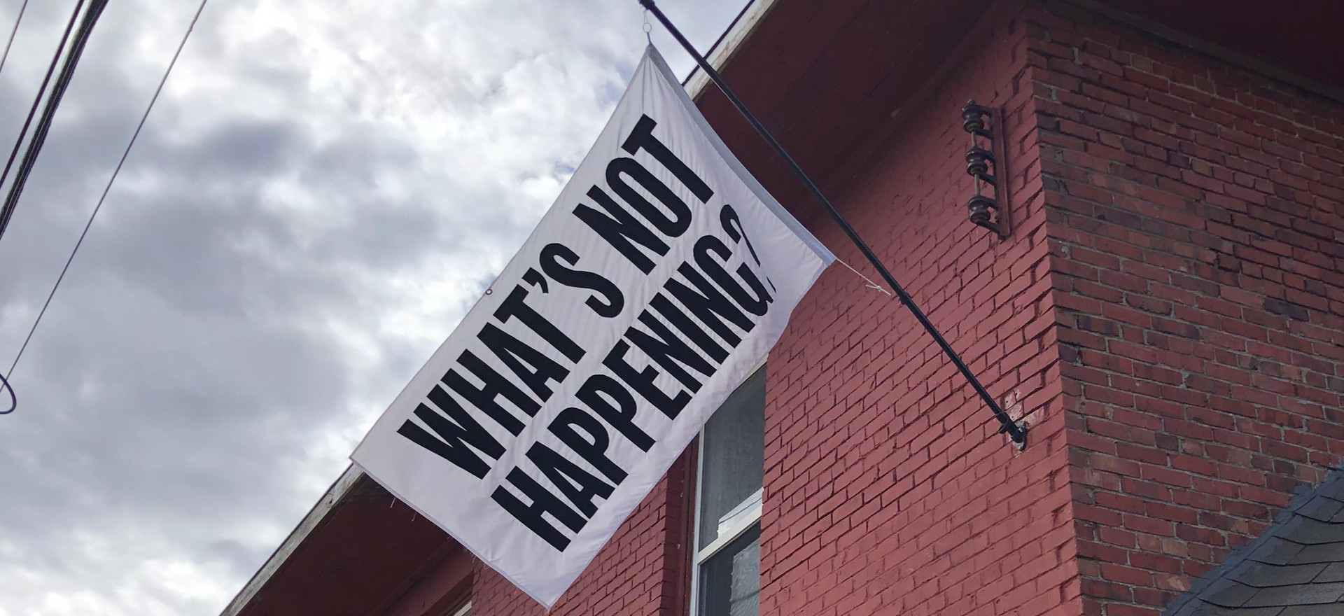 Amy Siegle & Paul Henderson | What's Not Happening?