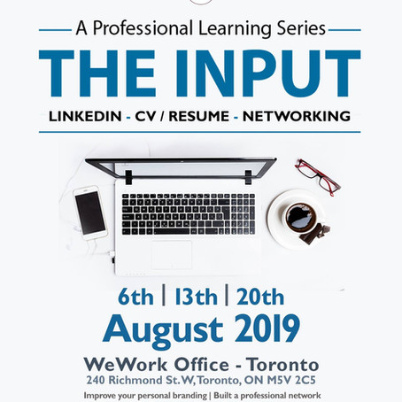 August 2019  THE INPUT