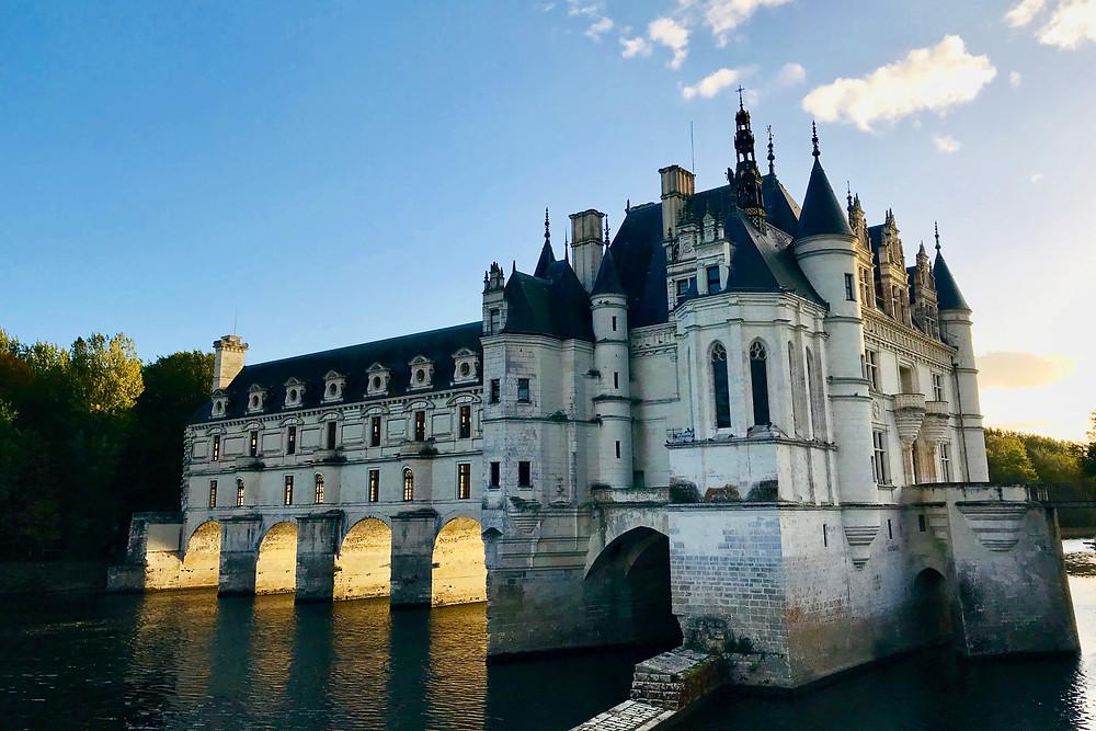 château-de-chenonceau-sunset