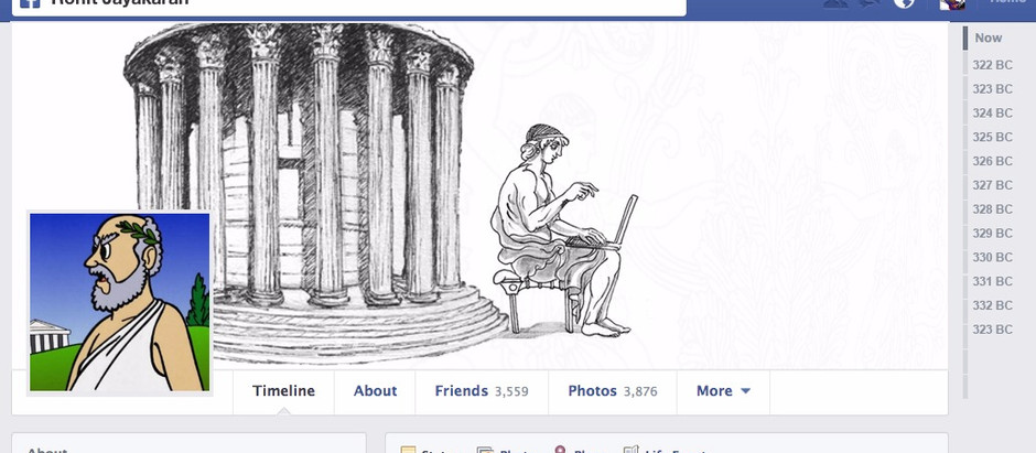 The Facebook Timeline Philosopher